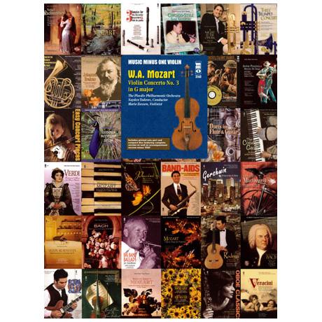 Mozart, W.A.: Violin Concerto No.3 G major (+CD)