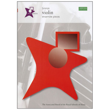ABRSM Music Medals Violin Ensemble Pieces - Bronze