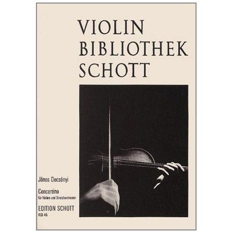 Decsényi, J.: Violinkonzert