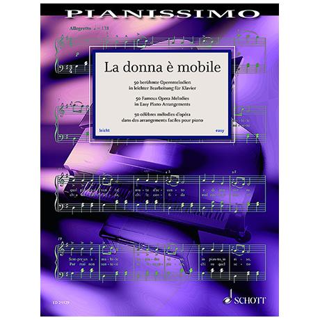 Heumann, H.-G.: La Donna è mobile – 50 berühmte Opernmelodien