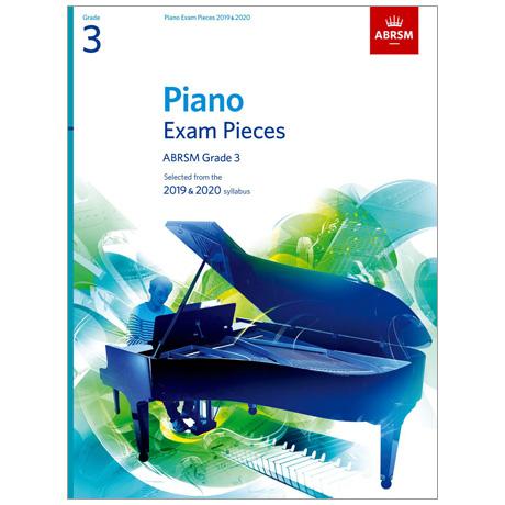 ABRSM: Piano Exam Pieces Grade 3 (2019-2020)