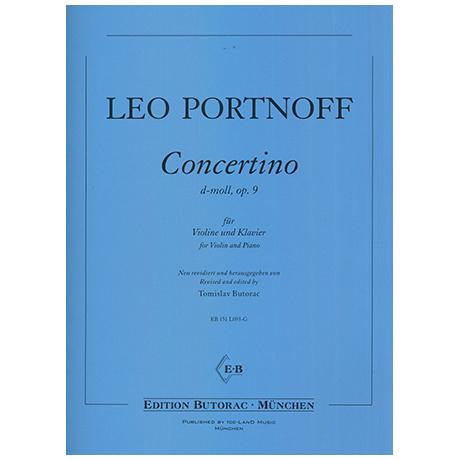 Portnoff, L.: Concertiono Op. 9 d-Moll