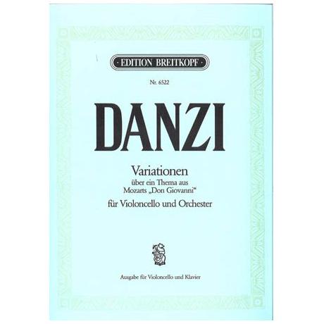 Danzi, F.: Variationen »Reich mir die Hand« aus Mozarts »Don Giovanni«