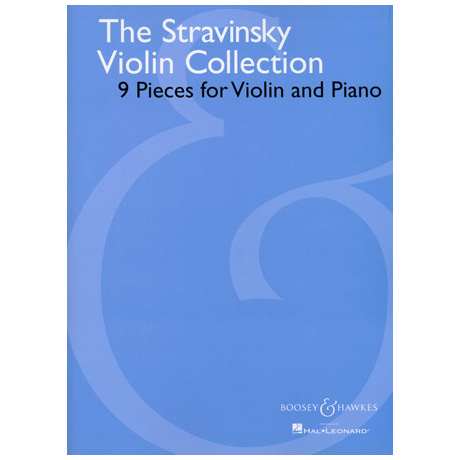 Stravinsky, I.: The Stravinsky Violin Collection