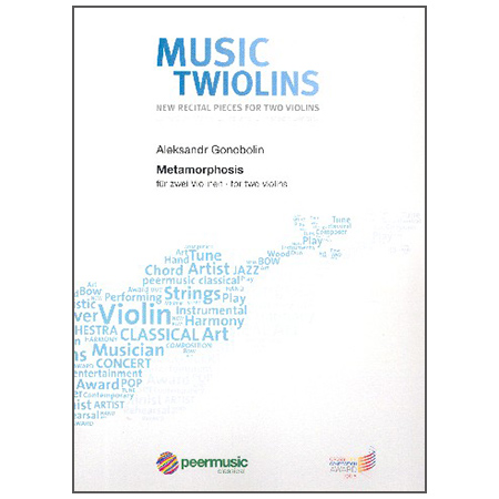 Gonobolin, A.: Metamorphosis – Music for the Twiolins