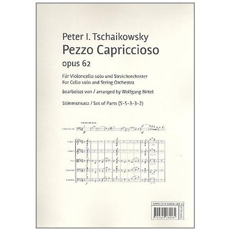 Tchaikowsky, P. I.: Pezzo Capriccioso Op. 62