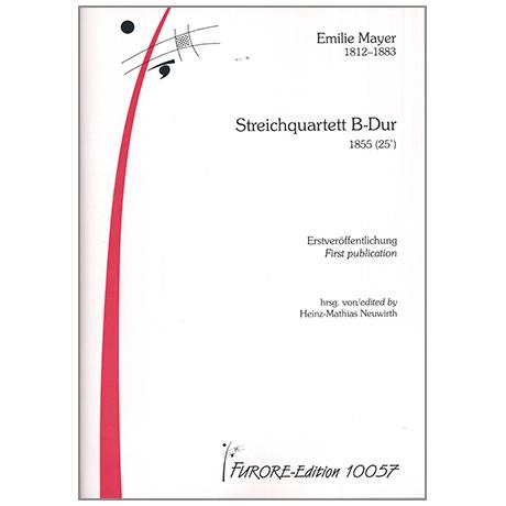 Mayer, E.: Streichquartett B-Dur