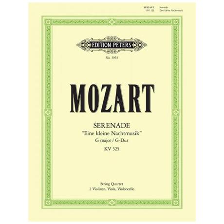 Mozart, W.A.: Serenade Eine kleine Nachtmusik KV 525