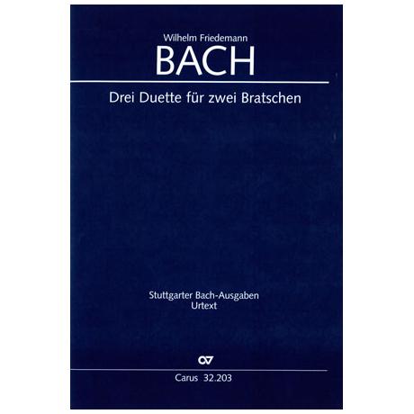 Bach, W.F.: 3 Duette