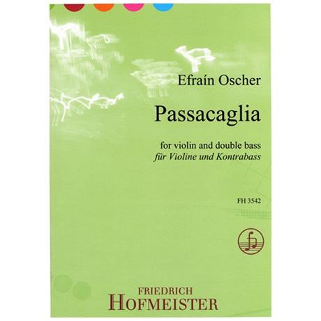 Oscher, E.: Passacaglia