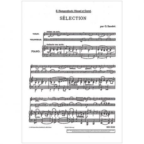 Humperdinck, E.: Hänsel und Gretel – Sélection