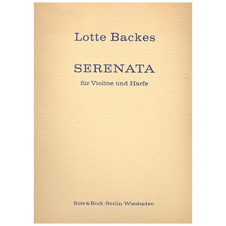 Backes, L.: Serenata