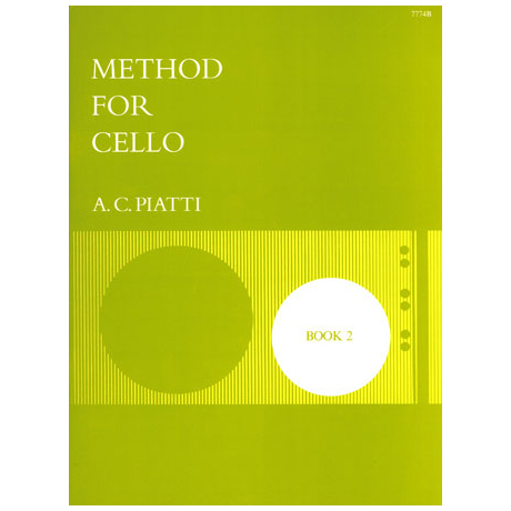 Piatti, A. C.: Method for cello vol.2