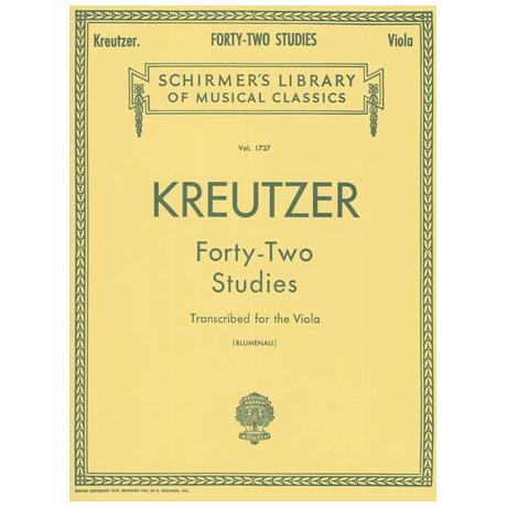 Kreutzer, R.: 42 Studies