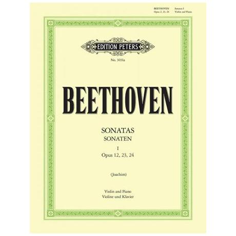 Beethoven, L. v.: Violinsonaten Band 1 Op. 12, Op. 23, Op. 24