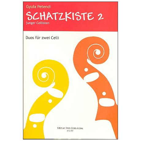 Petendi, G.: Schatzkiste junger Cellisten – Band 2