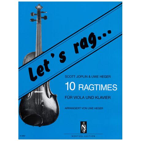 Joplin, S.: Let's rag: 10 Ragtimes