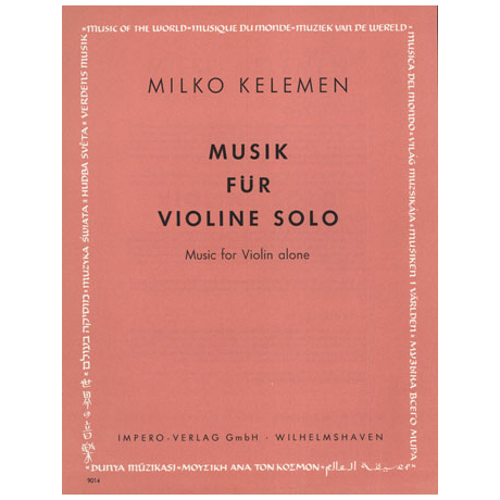 Kelemen, M.: Musik