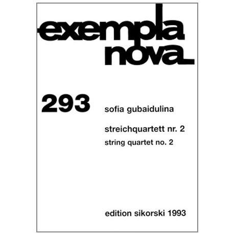 Gubaidulina, S.: Streichquartett Nr. 2