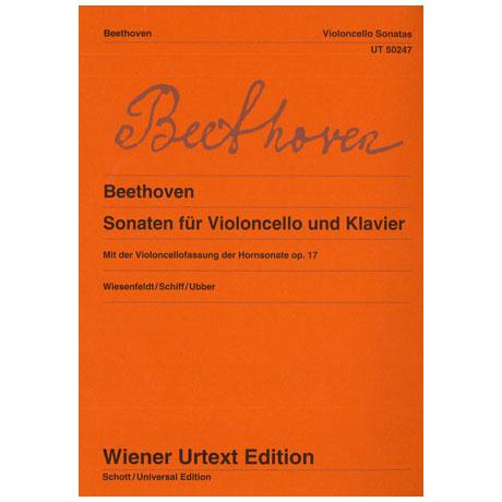Beethoven, L. v.: Violoncellosonaten Op. 17 F-Dur