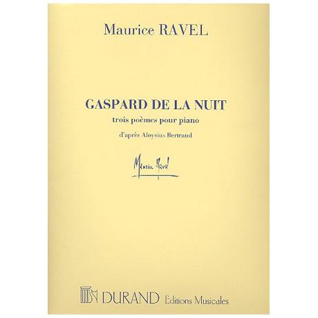 Ravel, M.: Gaspard de la nuit