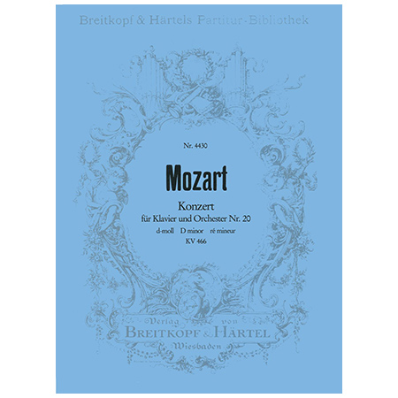 Mozart, W. A.: Klavierkonzert Nr. 20 d-Moll KV 466