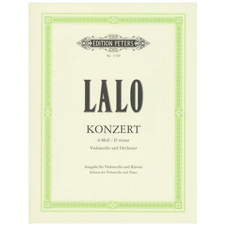 Lalo, E.: Violoncellokonzert d-moll
