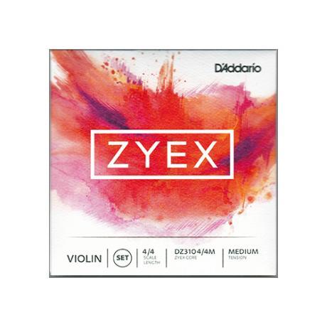 D'ADDARIO Zyex Composite violin string D