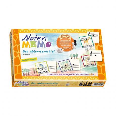 Noten MEMO – Das Noten-Lernspiel