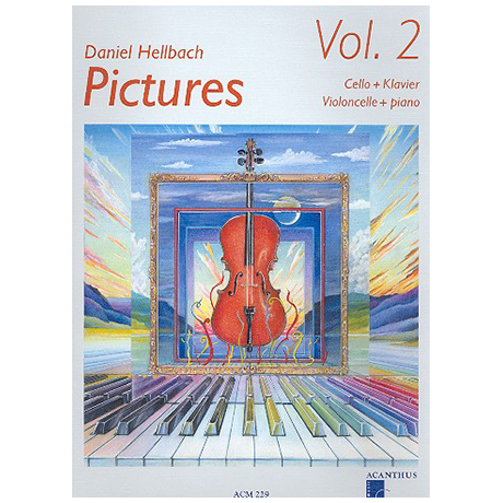 Hellbach, D: Pictures Vol.2 (+CD)