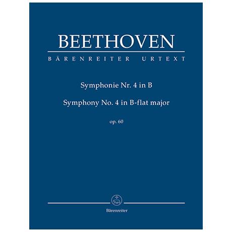 Beethoven, L. v.: Symphonie Nr. 4 B-Dur Op. 60