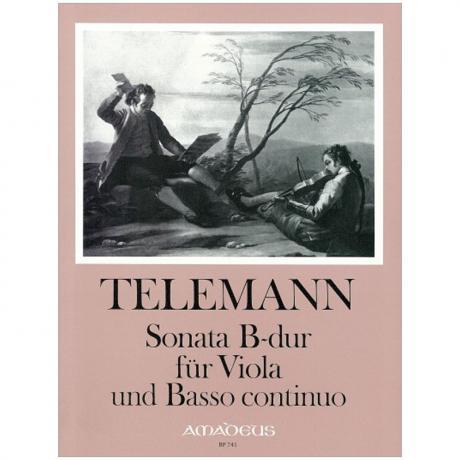 Telemann, G. Ph.: Violasonate B-Dur TWV 41:B3