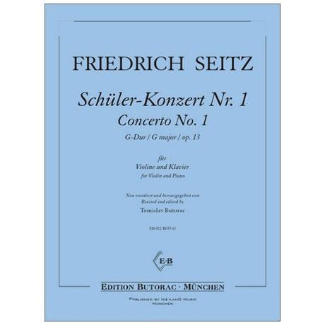 Seitz, F.: Schülerkonzert Nr. 1 Op. 13 G-Dur
