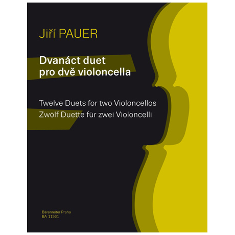 Pauer, J.: Zwölf Duette