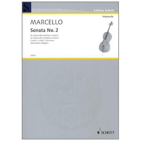 Marcello, B.: Sonata No. 2 e-Moll