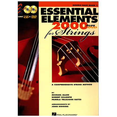 Allen, M.: Essential elements 2000 – double bass Vol. 1