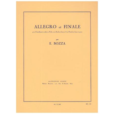 Bozza, E.: Allegro et Finale