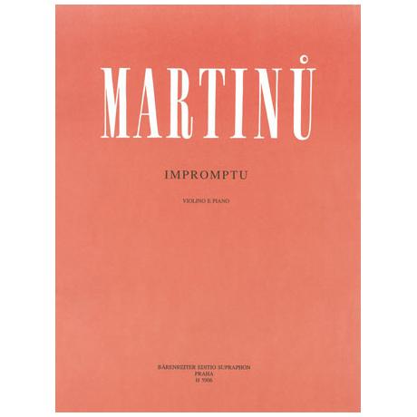 Martinu, B.: Impromptu