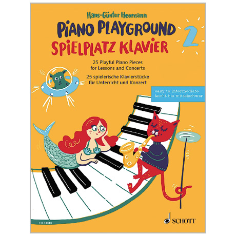 Heumann, H.-G.: Spielplatz Klavier Band 2