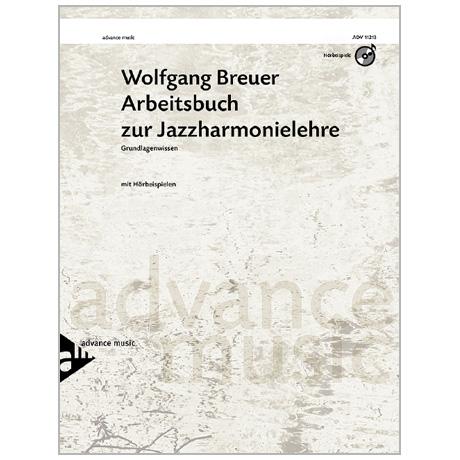 Breuer, W.: Arbeitsbuch zur Jazzharmonielehre – Grundlagenwissen (+CD)
