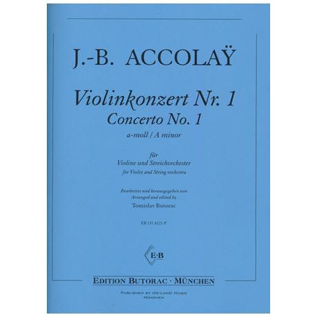 Accolay, J. B.: Violinkonzert Nr. 1 a-Moll – Partitur