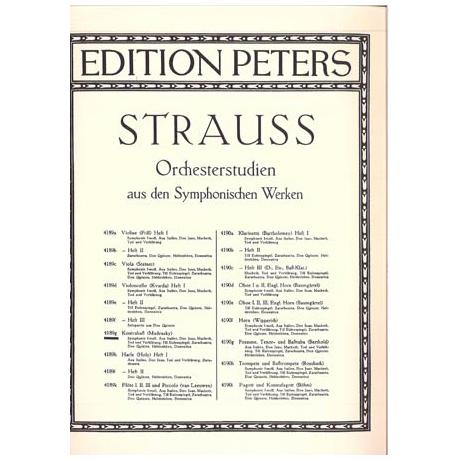 Strauss, R.: Orchesterstudien