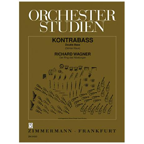 Klaus, G.: Orchesterstudien für Kontrabass