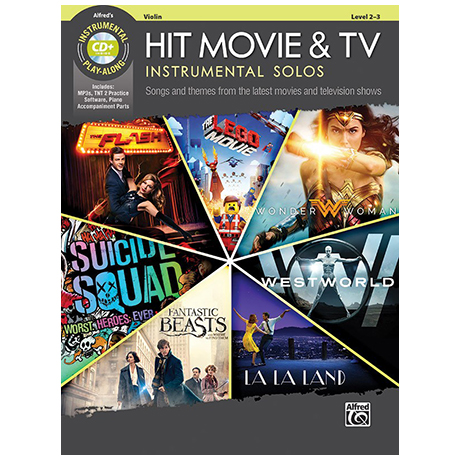 Hit Movie & TV Instrumental Solos for Violin (+CD)