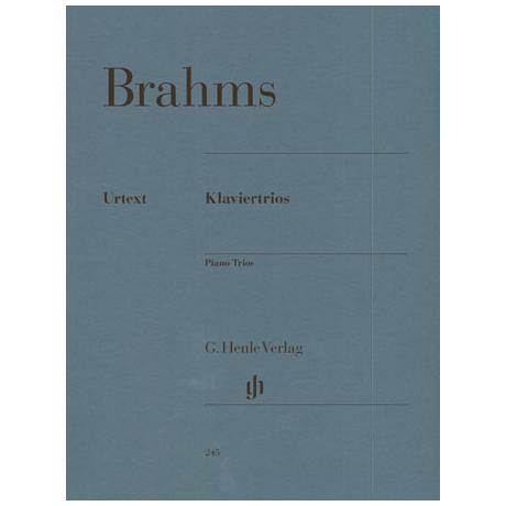 Brahms, J.: Klaviertrios Op. 8, 87 und 101