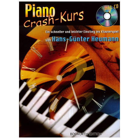 Heumann, H.-G.: Piano Crash-Kurs (+ CD)