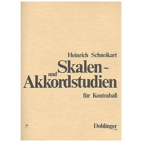 Schneikart, H.: Skalen- und Akkordstudien