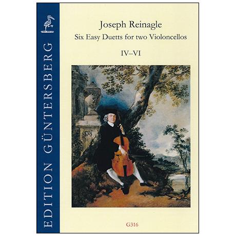 Reinagle, J.: 6 Leichte Duette IV-VI