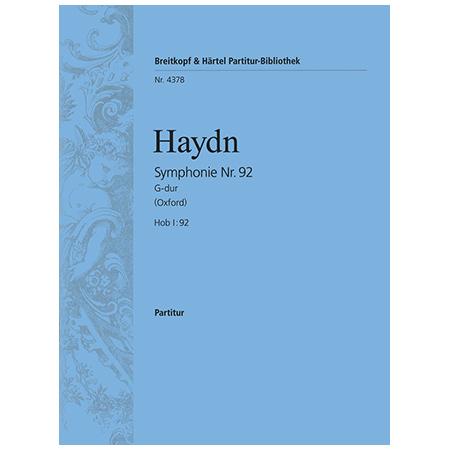 Haydn, J.: Symphonie Nr. 92 G-Dur Hob I:92