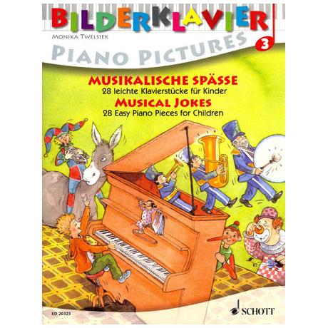 Bilderklavier - Musikalische Späße